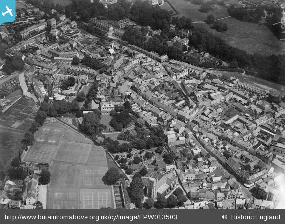 aerial 1925 from west Britain from Above archive