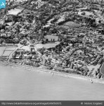 1953 Sidmouth town, Britain from Above archive