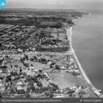 1953 town coast, Britain from Above archive
