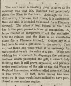 1895 Jan Radford Ham gift