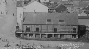 Drill Hall from postcard posted in 1913