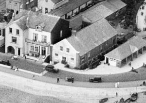 1932 aerial view of Sidmouth Drill Hall