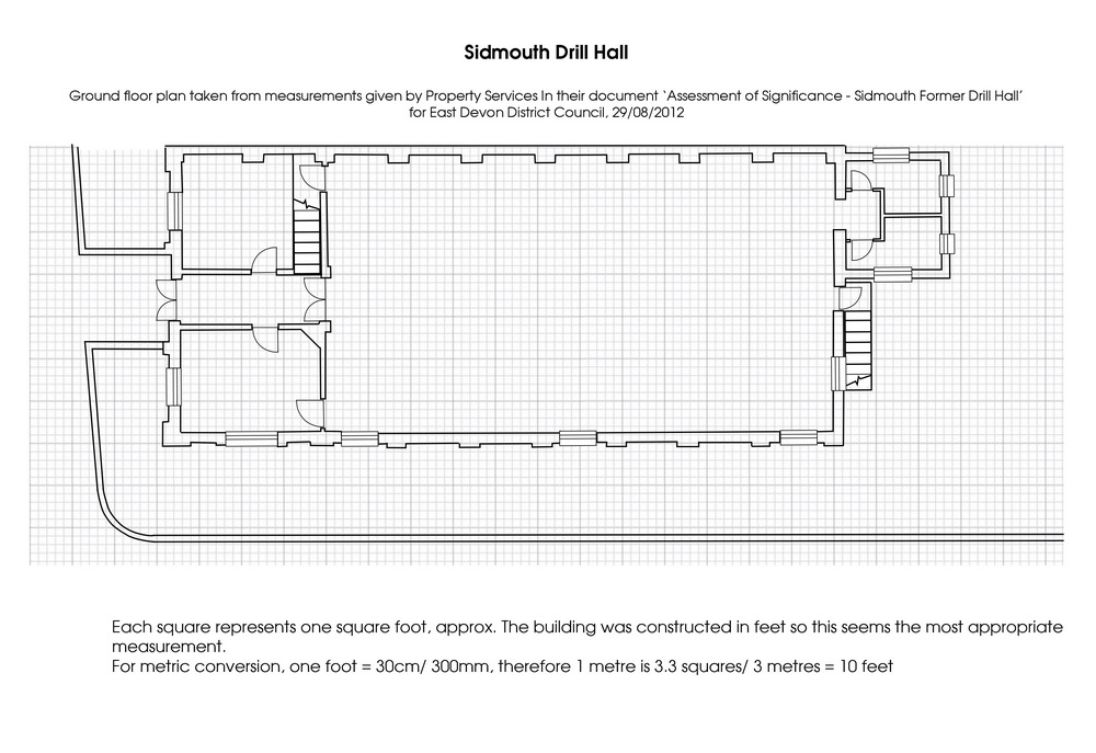floor plan of ground level