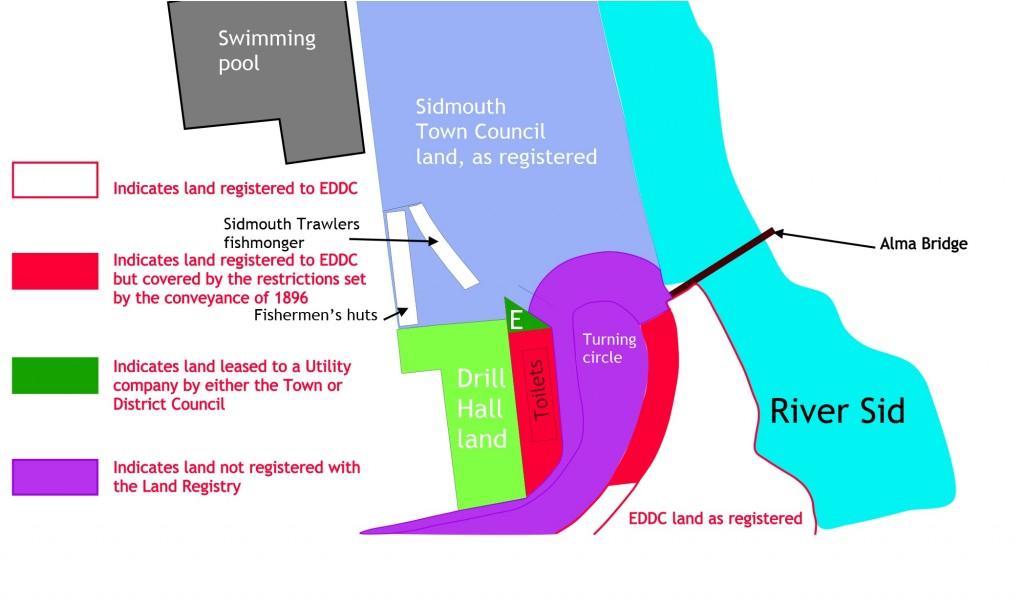 Land Registry ownership map detail